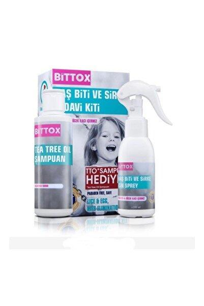 Bittox Baş Bit Ve Sirke Spreyi + Tto Şampuan 100ml +bit Tarağı