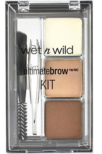 WET N WİLD Ultimate Brow Kit Kaş Seti - Soft Brown