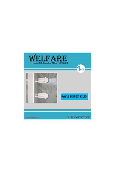 Welfare Çocuk Koruma Raylı Kapı, Dolap Kilidi (üçgen)