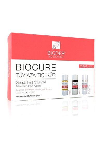 Bioder Biocure Tüy Azaltıcı Vücut Kürü 3x10 ml