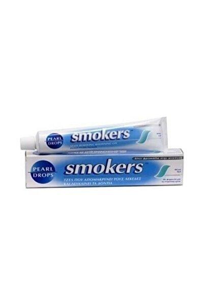 Smokers Pearl Drops Sigara İçenler İçin Diş Macunu Gel 50 ml 6smkrs 50x 6 Adet