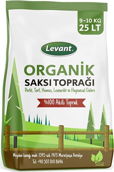 LEVANT Organik Saksı Torf Toprağı 25 Lt Avantaj Paketi