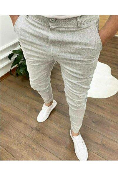 Zoom Modafe Erkek Likralı Keten Pantolon