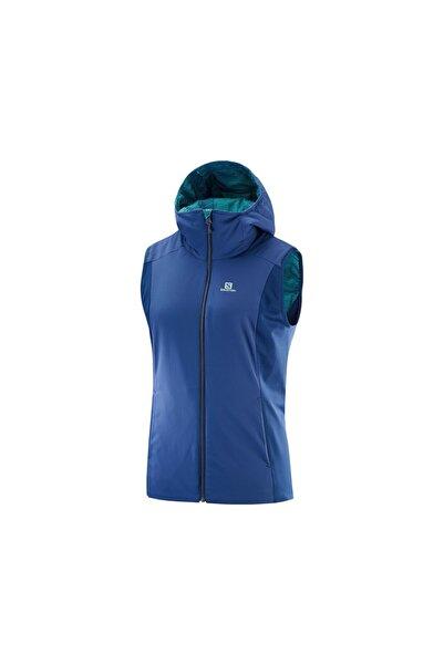 Salomon Erkek Outdoor Yelek L40419500 Mavi Insulated Jacket Medieval Blue
