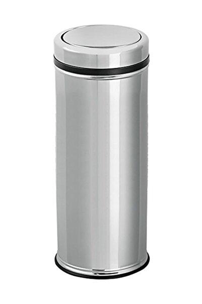 Flosoft Pratik Kapaklı Paslanmaz Çöp Kovası 20 Lt Ft498