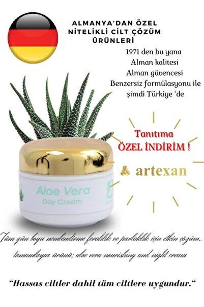 artexan Aloe Vera Gündüz Kremi / Aloe Vera Day Cream 50 ml/1,7 Oz Alman Menşeli Özel Kozmetik Ürün