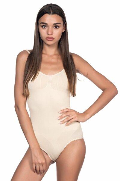 Emay Ten  Soft Kalın Askıllı Çıtçıtlı Body