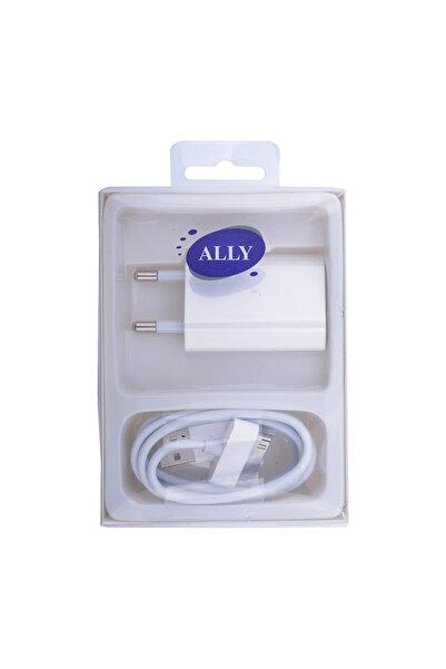 Ally Iphone Uyumlu  2in1 4g 4s Ipad 2-3 Usb Ve Şarj Başlık Şarj Aleti Rz