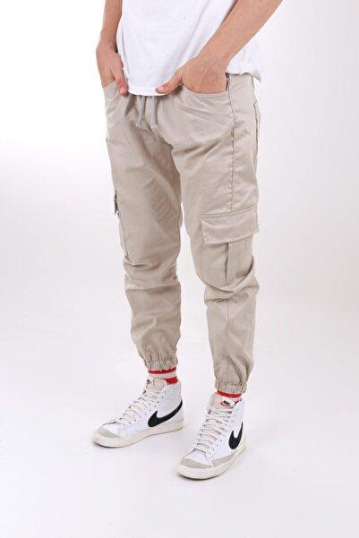 Claw Erkek Krem Jogger Pantolon