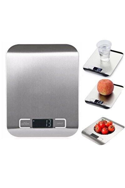 SHAVER 1gr 5 Kg Kapasiteli Dijital Ekranlı Kaliteli Metalik Hassas Elektronik Mutfak Terazisi Tartı Baskül