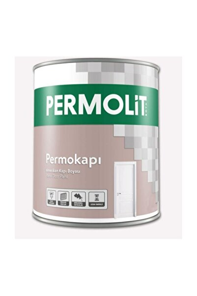 Permolit Beyaz Amerikan Panel Kapı Boyası 2.5 Lt
