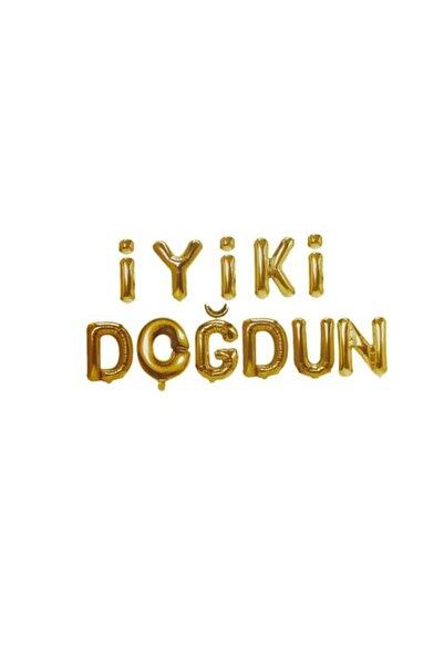 RADE SHOPPİNG İyi Ki Doğdun Folyo Balon Seti Gold