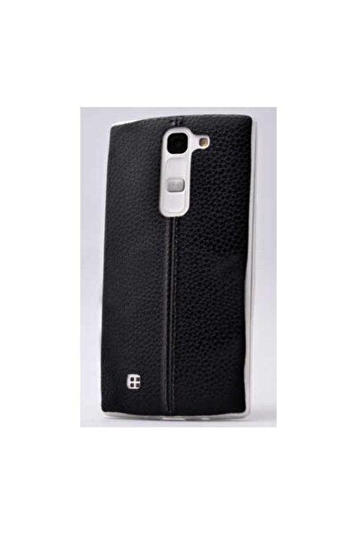 LG G4c Kılıf Ultra Ince Derili Silikon Kapak