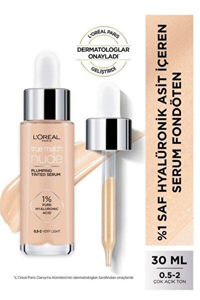 L'Oreal Paris L'oréal Paris True Match Nude Serum Fondöten 0.5-2 Very Light