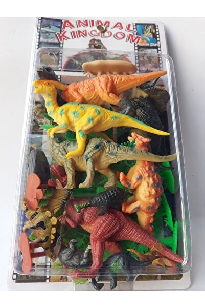 OYUNCAKSAHİLİ Dinozor Ağaç Trex Hayvan Seti Kaliteli Et Dinazor Oyuncak