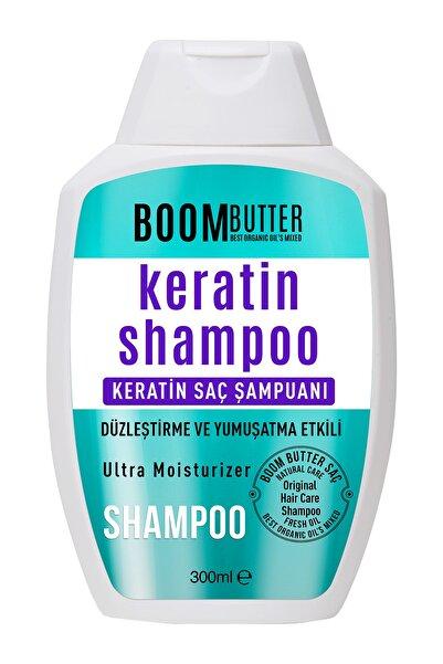 Boom Butter Güçlendirici Onarıcı Keratin Saç Bakım Şampuanı 300 Ml