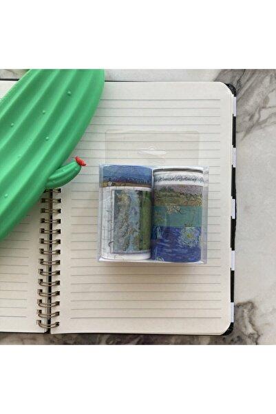 Şeker Ofisi Washi Tapes Desenli Bantlar Van Gogh10'lu