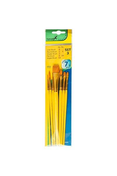 Fanart Academy 500 Fırça Seti No:3(7li)