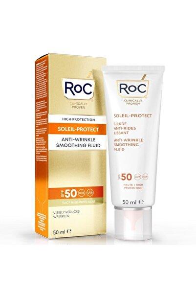 Roc Kırışık Karşıtı Likit Güneş Kremi Spf50+ 50 ml