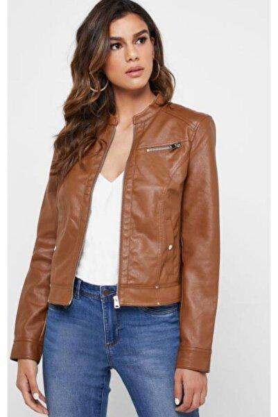 Vero Moda Kadın Suni Deri Ceket