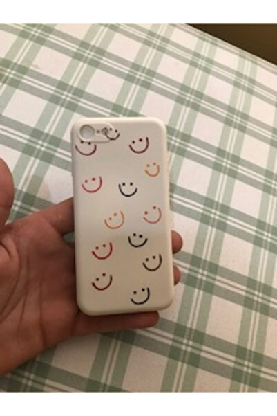 LAZİSTBUTİK Iphone 7 Smile Desenli Baskılı Lansman Koruyucu Kapak Kılıf