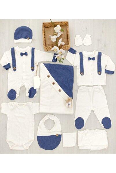 Bebbemini Erkek Bebek Mavi Hastane Çıkışı