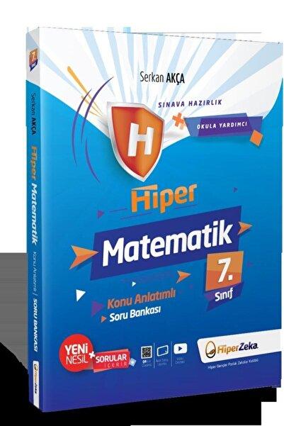 Hiper 7. Sınıf Matematik Konu Anlatımlı Soru Bankası Serkan Akça Zeka Yayınları