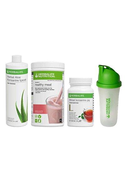 Herbalife Başlangıç Seti 13  1 Ahududu Shakex Klasik 50 gr Çay x Aloe Konsantre İçecek x Shaker
