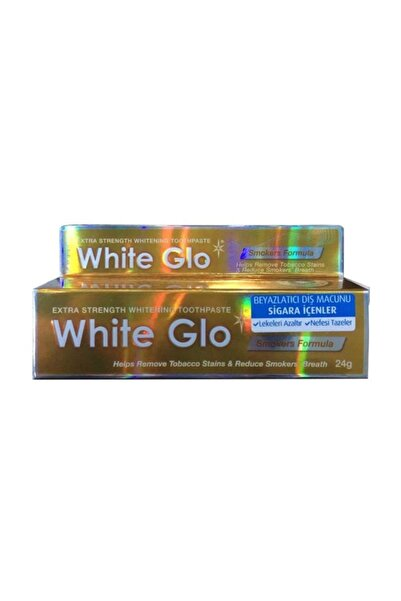White Glo Whıte Glo Smokers Diş Macunu 24 Gr - Seyahat Boyu