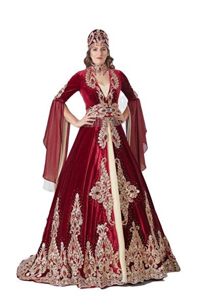EFL 5 Parça Bindallı Kına Elbisesi Bihter
