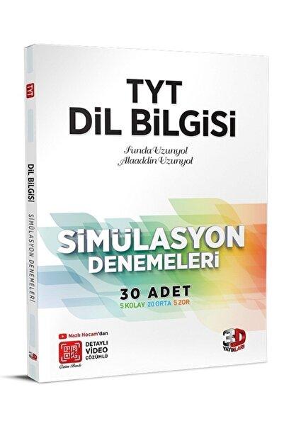 3D Yayınları 3d Tyt Dil Bilgisi Simülasyon Denemesi 30 Adet Video Çözümlü