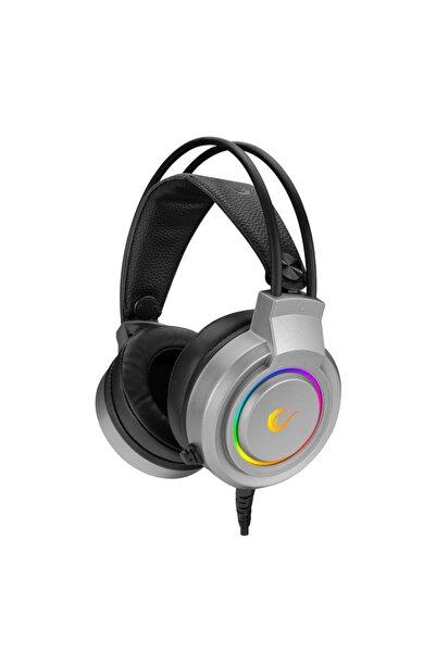 Rampage Kulaklık Rm-x5 Aırs Gri Cmedıa 100b Chipset Usb Rainbow Led Aydınlatmalı Mikrafonl