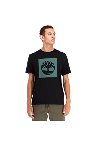 Timberland - Graphic Tee Black T-shirt - Tb0a2g3h001
