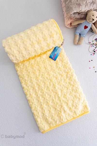 Babymod Sarı Yıldızlı Peluş Bebek Battaniyesi