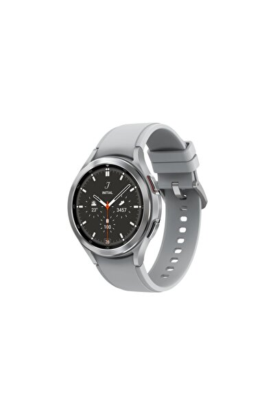 Samsung Galaxy Watch4 Classic 46mm Gümüş Akıllı Saat ( Türkiye Garantili)