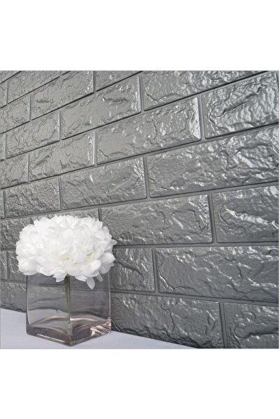 Renkli Duvarlar Nw02 Gri Tuğla Arkası Yapışkanlı Esnek Silinebilir Duvar Paneli