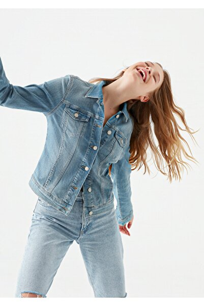 Mavi Daisy Vintage Açık Jean Ceket 1113623511