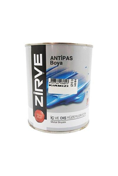 Zirve Kırmızı Antipas Iç Ve Dış Cephe Metal Boyası 0,55 Litre