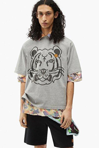 Kenzo Kaplan Logolu Geniş Kesim T-shirt