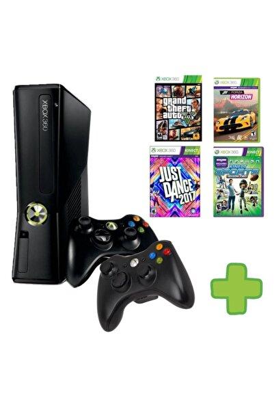 MICROSOFT Xbox 360 - 2 Adet Kablosuz Kol - 250 Gb Hafıza - 30 Oyun