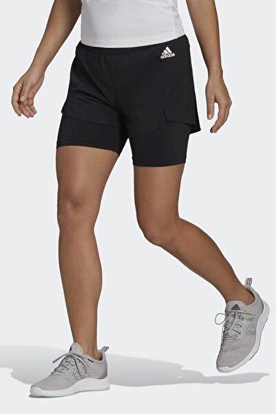 adidas Kadın Günlük Şort W 2in1 Sho Gl4033