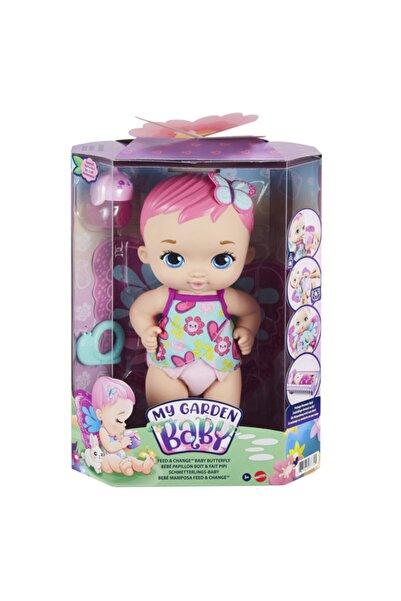 ADORE OYUNCAK My Garden Baby Kelebek Bebeğimin Bakım Zamanı Pembe Saçlı Bebek Gyp10