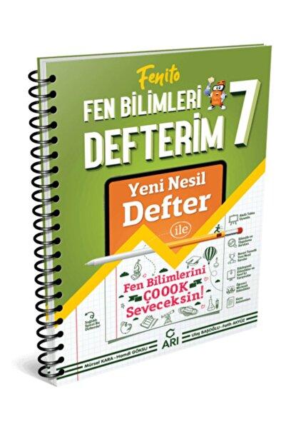 Arı Yayınları 7.sınıf Fenito Fen Bilimleri Defterim