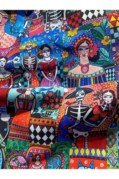 favor kumaş Meksika Pacthwork Desenli Dijital Baskılı Kumaş Fvr-1203