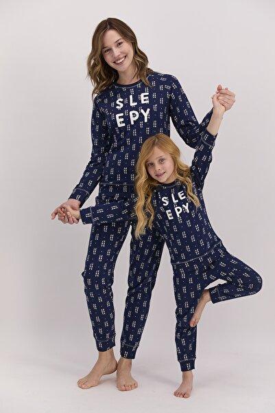 Arnetta Kadın Uzun Kol Baskılı Pijama Takımı