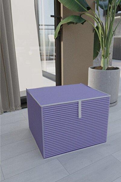 Vivyan Çok Amaçlı Düzenleyici Kutu Maxi Boy 30cm X 40cm X 50cm Kapaklı Kutu