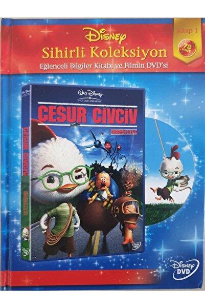 DISNEY Cesur Civciv - Chicken Little - Eğlenceli Bigiler Kitabı Ve Film Dvd'si