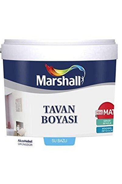 Marshall Beyaz Tavan Boyası 3.5 kg