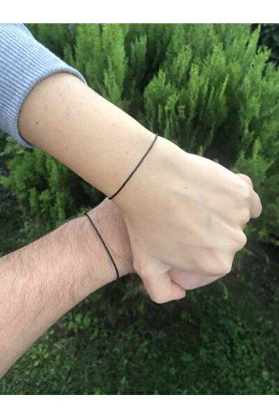 Arda Aksesuar Red String Siyah Ip Çift Bileklik