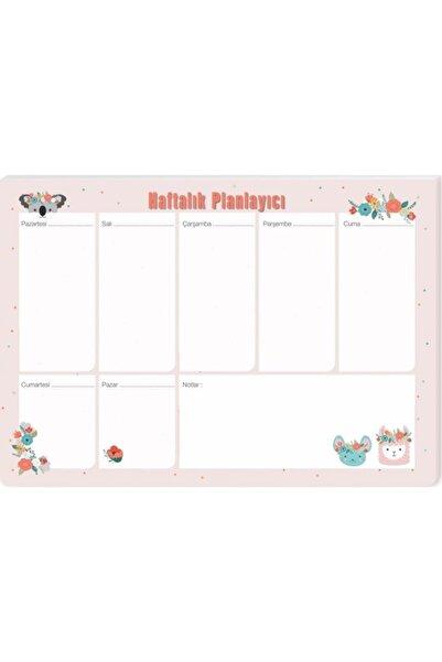 KESKİN COLOR Masa Üstü Haftalık Planlayıcı (Planner) Koalalama 17x24cm 52 Yaprak 830161-99